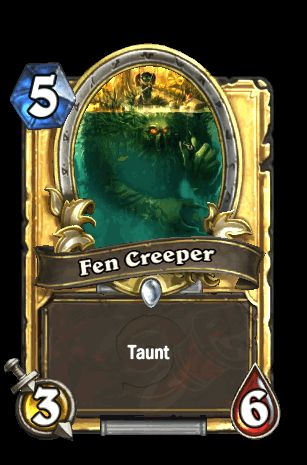 Fen Creeper - Card - Hearthstone