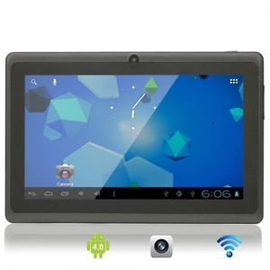 "7"" Capacitive Touch Screen Android 4.0 8GB Tablet PC with Camera Wifi TF Black"