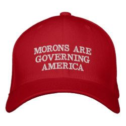 114023f9b7f MAGA - Morons are Governing America Embroidered Baseball Cap