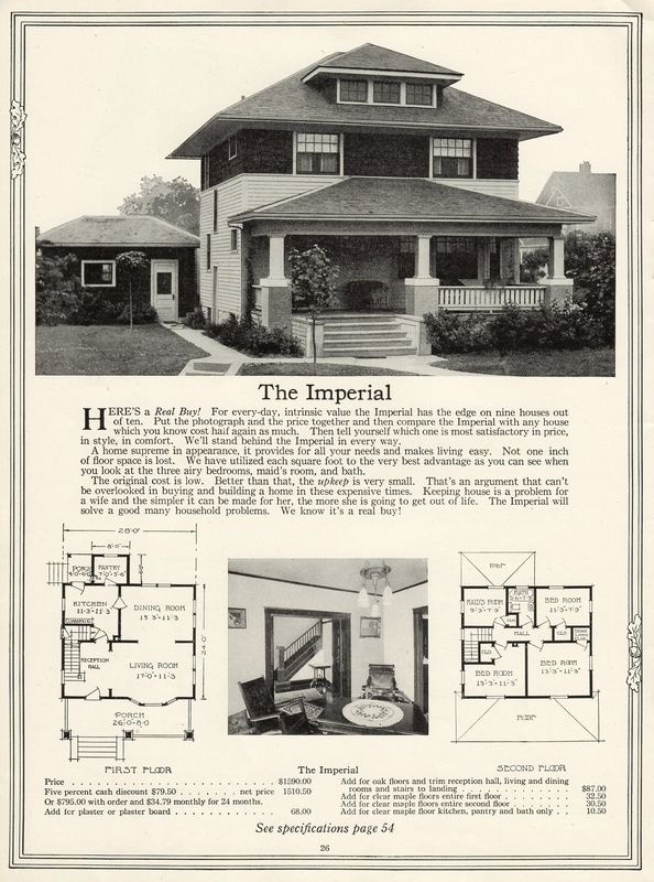 Sears Roebuck House Plans 1906