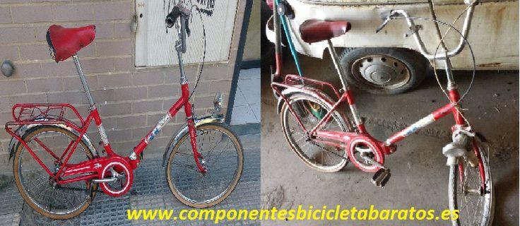 Antes y ahora BH antigua: hacemos lo que mas nos gusta. Propiedad de Componentes Bicicleta Baratos en Zaragoza