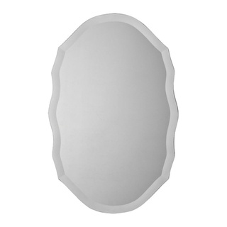 @Overstock - With its sleek and clean look, this frameless Ashfield mirror features an elegant beveled-edge design. This mirror also offers a unique shape making it a great, neutral fit in many decors.http://www.overstock.com/Home-Garden/Ren-Wil-Ashfield-Frameless-Mirror/7492529/product.html?CID=214117 $127.99
