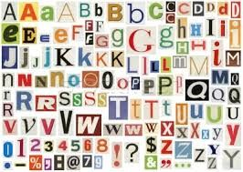 Magazine letter font doritrcatodos magazine letter font spiritdancerdesigns Choice Image