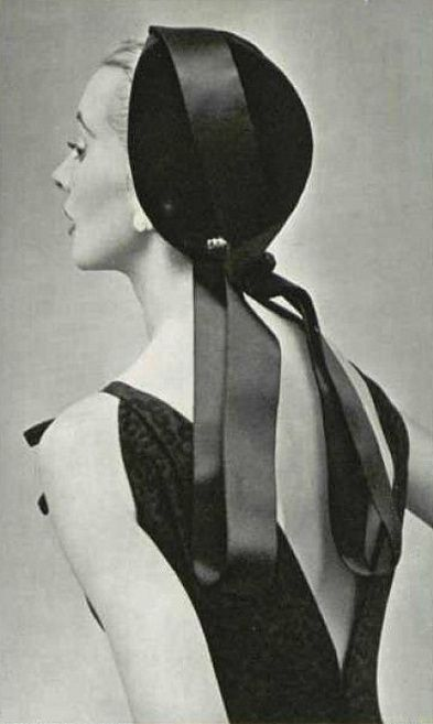 1953 Christian Dior dress and hat