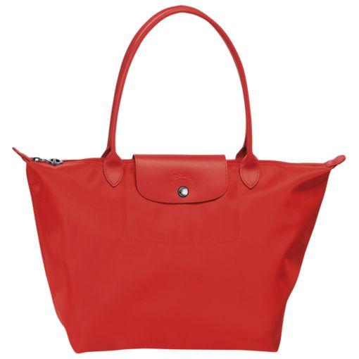 Shopping Bag - Le Pliage Néo - Taschen - Longchamp - Mohnblume - Longchamp Deutschland