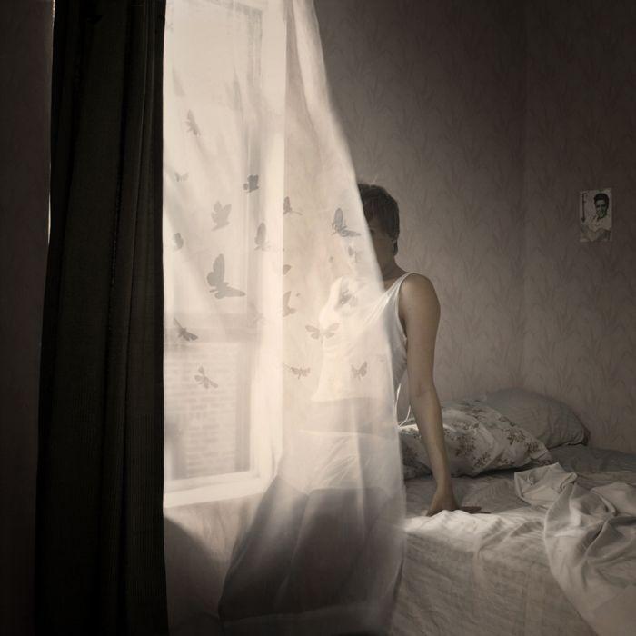 Curtain by Haley Jane Samuelson