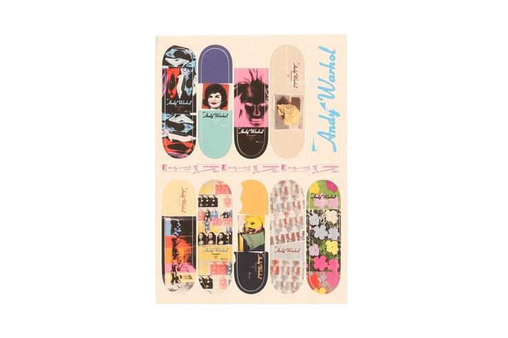 `Warhol Series 2` Omar Salazar Skateboard Deck By Alien Workshop
