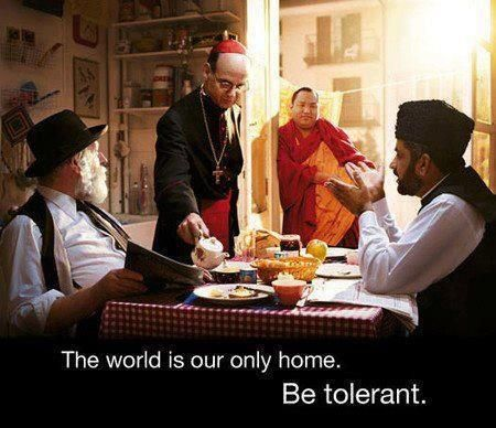 human equality understanding or tolerant Everyone is equal in spite of their colour of skins, gender, religion and  they  cannot understand that being different doesn't mean having less.