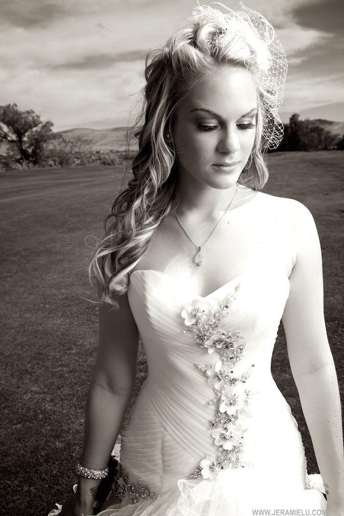 Love this bride's portrait  Jeramie Lu Photography  Wedding Coordination: Forget Me Knot Events, Ltd.