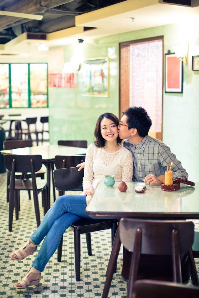 Casual Soho Engagement Shoot | Hong Kong Wedding Blog