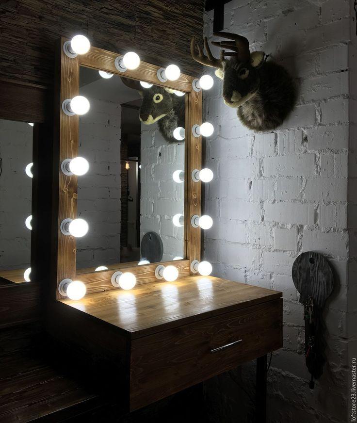 Купить JOKKMOKK PROVINCIAL - мебель для макияжа, гримерное зеркало, набор визажиста, подвесной столик