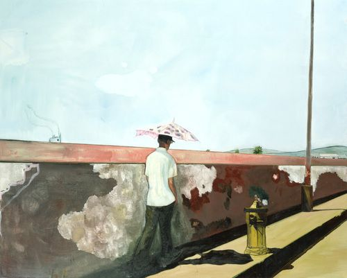 Peter Doig  Lapeyrouse Wall, 2004  Oil on canvas
