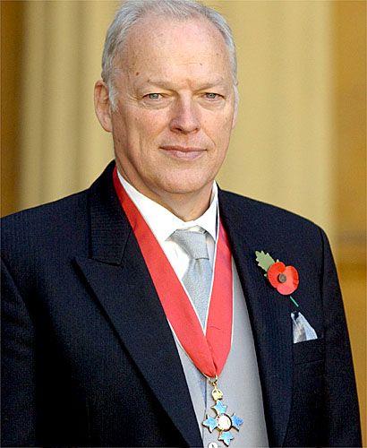 David Gilmour, CBE. Well deserved!