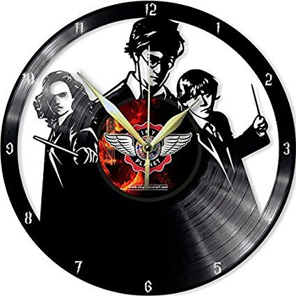 VINYL WALL CLOCK HARRY POTTER 2