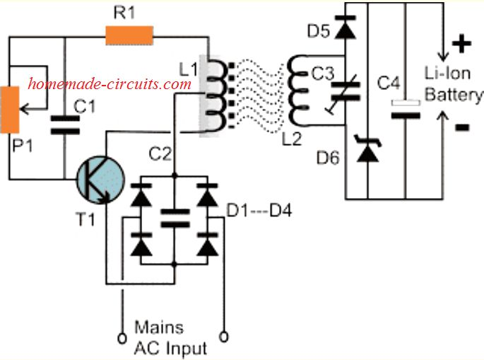 Wireless Li-Ion Battery Charger Circuit (With images
