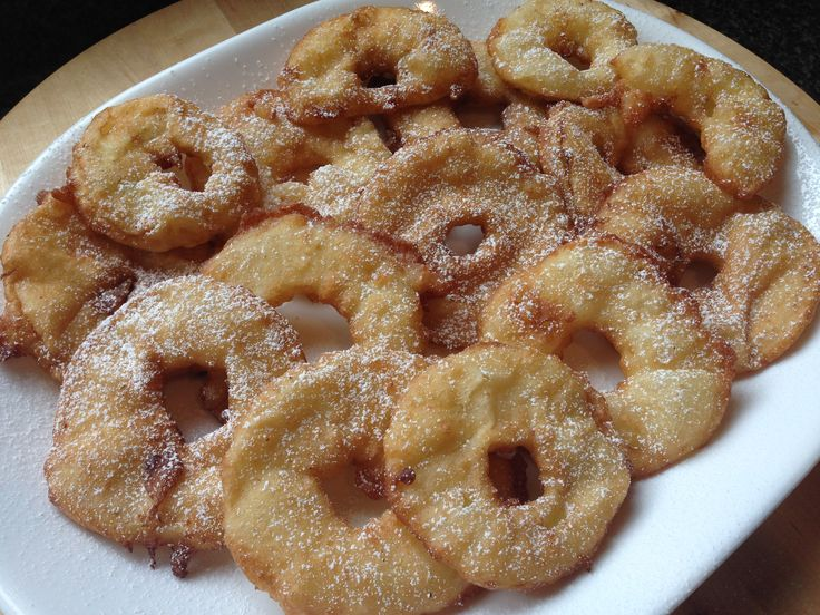It is a Momstown Recipe Monday, and in honour of the first day of Fall and apple season I have made delicious authentic Polish Apple Fritters. My grandmother (who will be 88 next week!) used to mak…