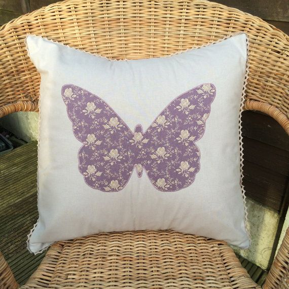 Butterfly Cushion Make your own butterfly cushion by KraftiqueUK