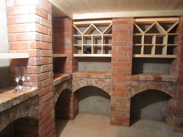 baskervilles house // Baskervilles mystery wine cellar in red bricks, Umeå Vin, källare, vinkällare, tegel