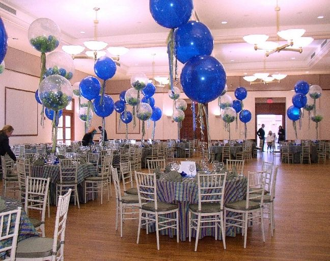 97 best images about Balloon Centerpieces on