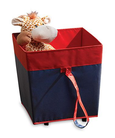 Take A Look At This Homz Navy U0026 Red Wheeled Toy Storage Bin By Homz On