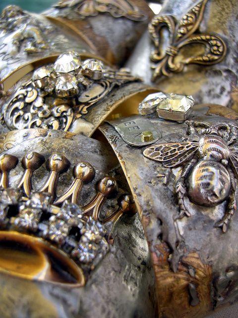 More beautiful cuffs by Diana Frey