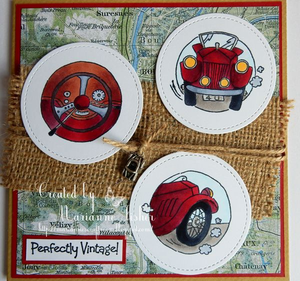 LOTV - Vintage Motor Trio by Marianne Fisher