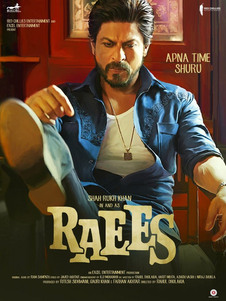 Raees (2017) Genre: Action ,Crime ,Drama , (104 Similars) Country: India (Hindi) Director: Rahul Dholakia Plot: The film is set in the early 80's and 90's in Gujarat. The fictitious sto…