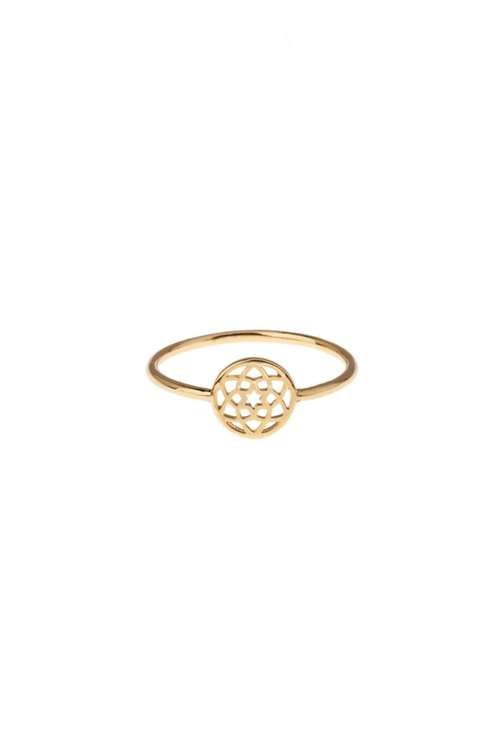 **Cut out Coin Ring by Orelia