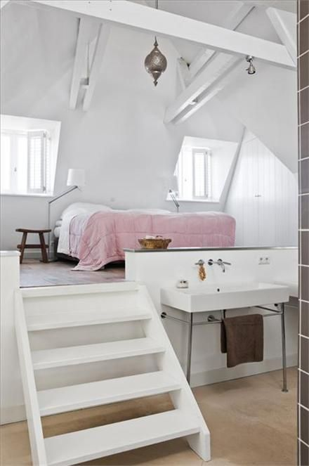 would love thisGuest Room, Ideas, Attic Bedrooms, Loft Bedrooms, Bedrooms Design, Beds Room, Loft Spaces, House, Bedrooms Decor