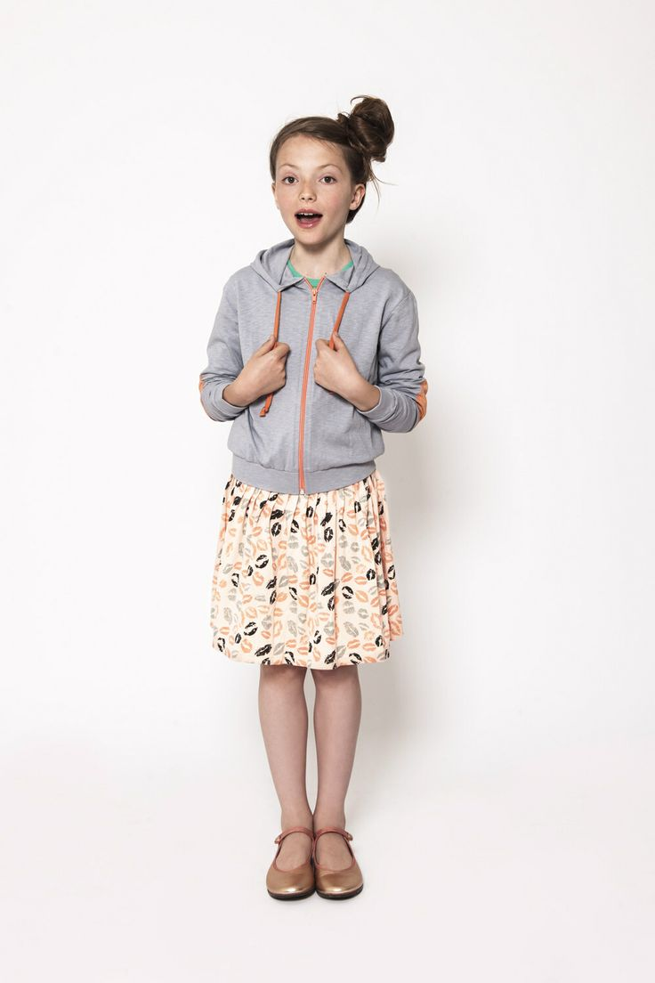 Hoody and skirt