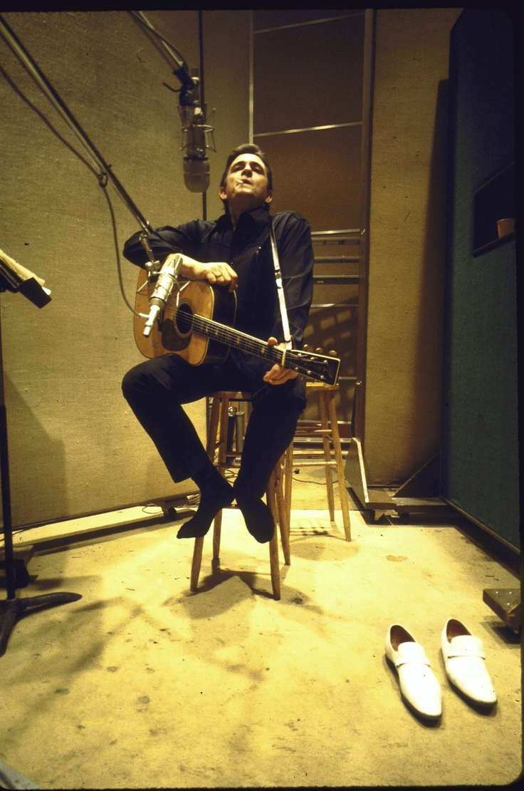 Johnny Cash: The man in black. My biggest inspiration... an amazing life to listen to through his entire body of songs... somebody who truly lived his life and shared his stories and his legacy through music