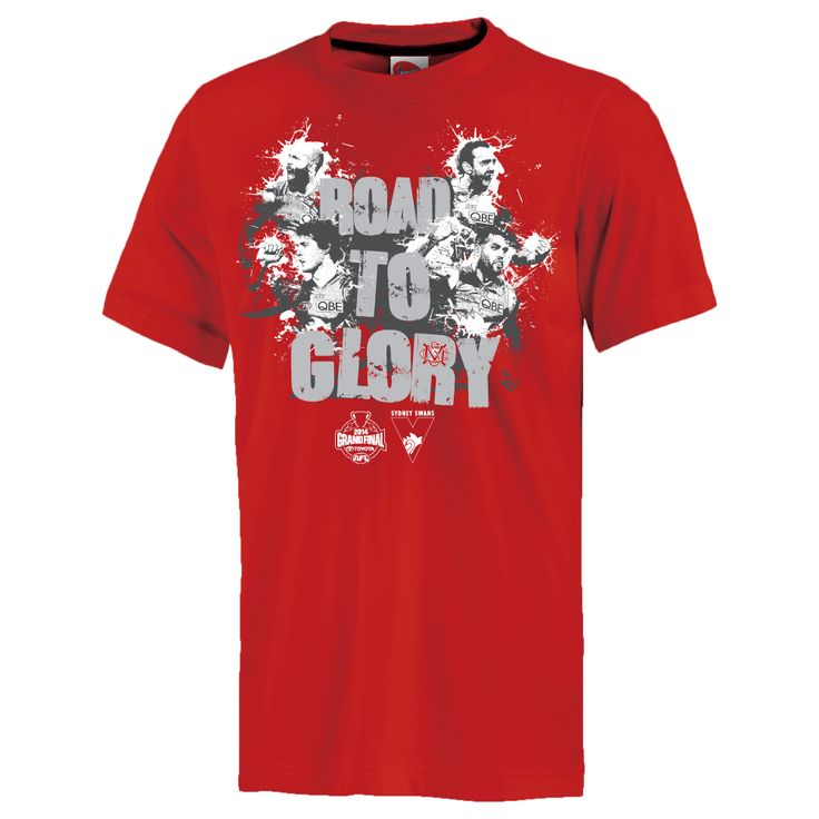 2014 RED ROAD TO GLORY GRAND FINAL TEE - MENS