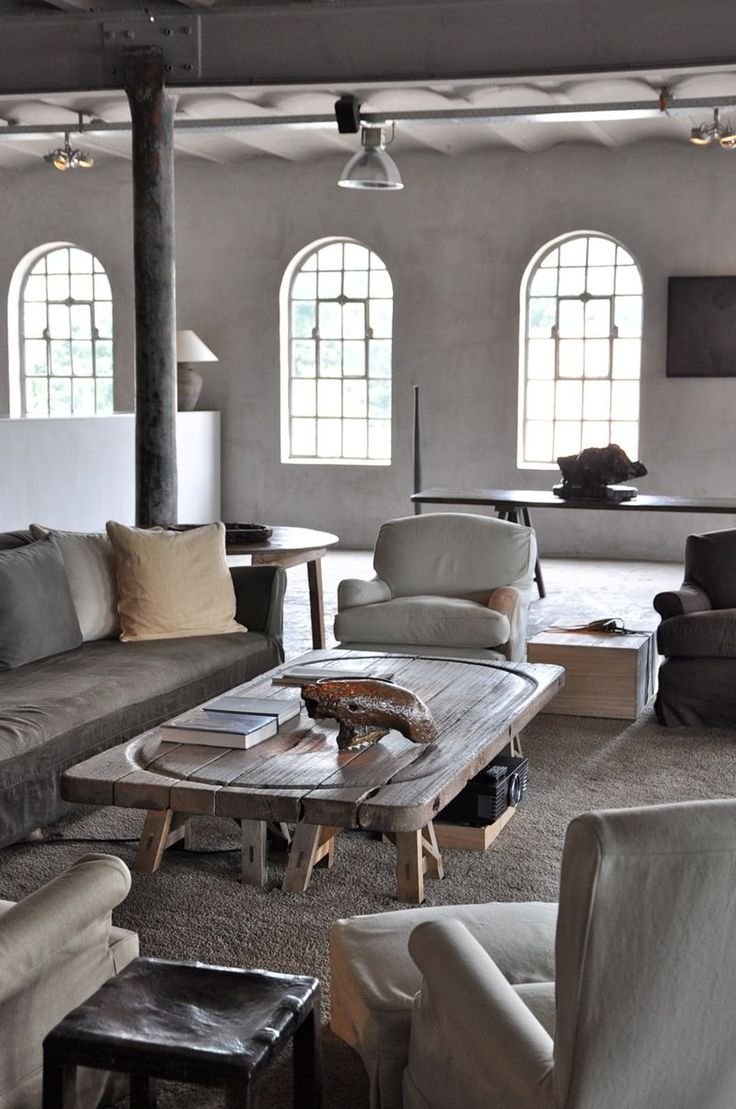 Axel and May Vervoordt's Primary Residence via Ingrid Del Valle-Brouwer