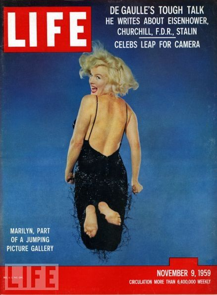 """Vintage Marilyn """"Life"""" magazine cover"""