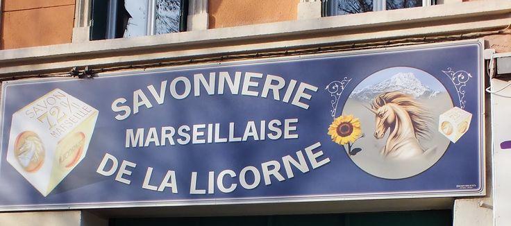 Marseille soap factory La Licorne