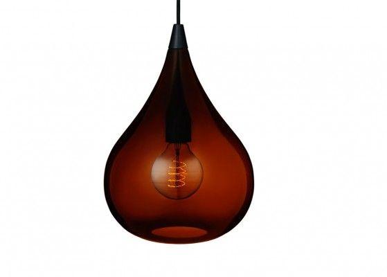 El-light Drops Cognac Pendel