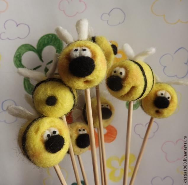Мастер-класс: неправильные пчёлы, которые не делают мёд - Ярмарка Мастеров - ручная работа, handmade