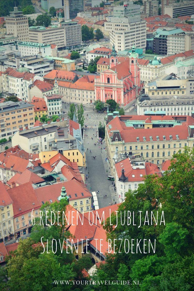 Hoofdstad Slovenie
