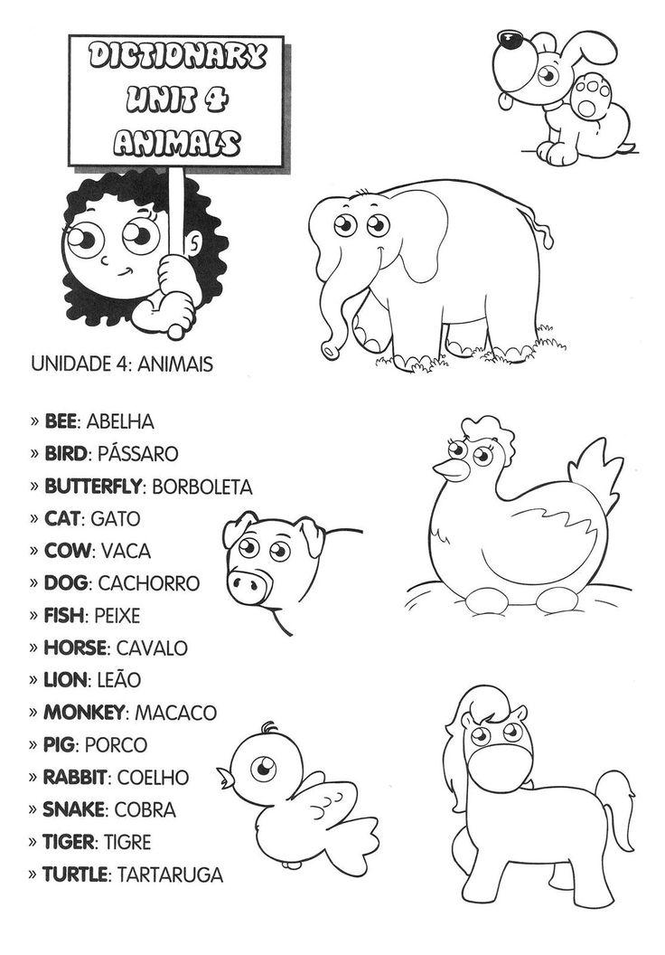 atividades para crianças inglês - Pesquisa Google