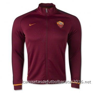 Nike Chaqueta AS Roma 2016 rojo
