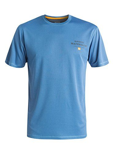 Quiksilver Waterman Men's Water Marked Short Sleeve Surf Tee  http://fishingrodsreelsandgear.com/product/quiksilver-waterman-mens-water-marked-short-sleeve-surf-tee/  UPF 40+ sun protection Loose fit swim shirt