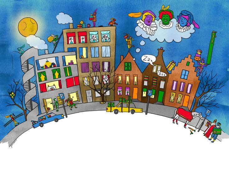 * Rekenen is Top! 5 leuke rekenspellen over Sinterklaas!