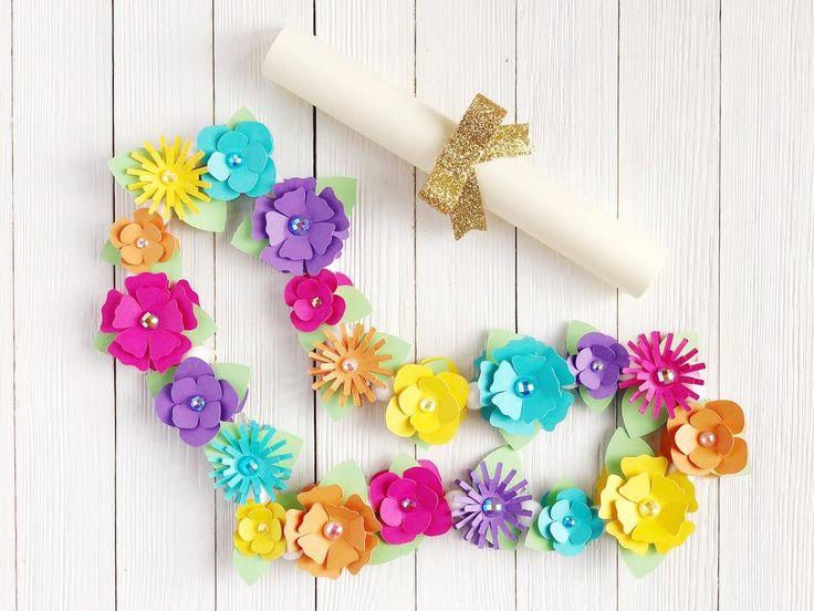 DIY Paper Floral Hawaiian Lei