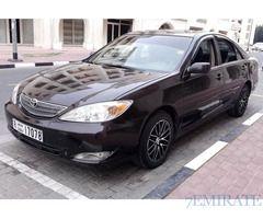 Toyota Camry 2002 Model for Sale in Dubai