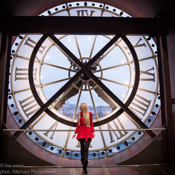 Paris, Museum d'Orsay former railway station Gare d'Orsay. Travel to Paris with @iveseen_