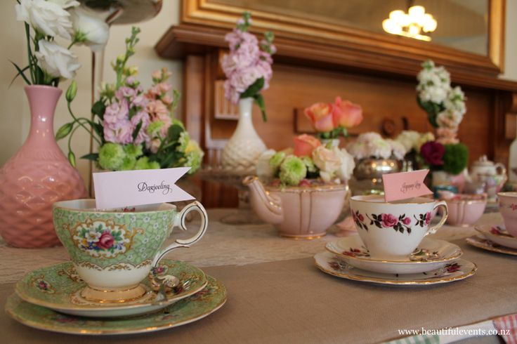 High tea placements