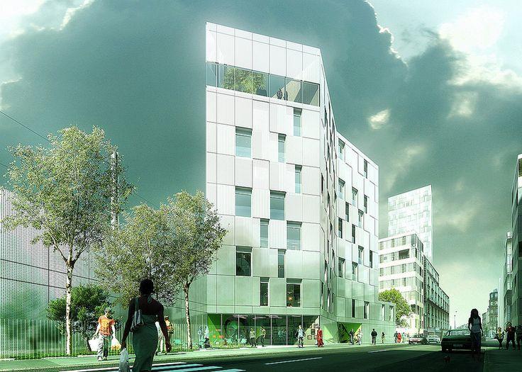 Philippe DUBUS/ Social Housing Street/ Clichy - France