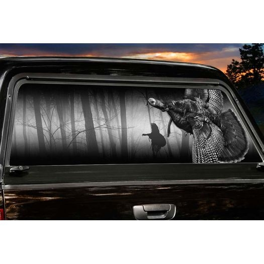 Best Hunting Wild Turkeys Images On Pinterest Wild Turkey - Rear window hunting decals for trucksduck hunting rear window graphics best wind wallpaper hd