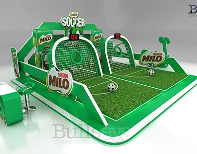 """Check out new work on my @Behance portfolio: """"Milo Soccer League"""" http://on.be.net/1KYGXK0"""