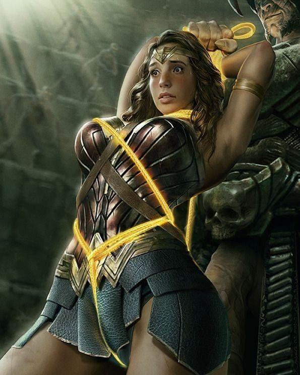 Ares captures Dians By NINJAARTIST | Wonder woman
